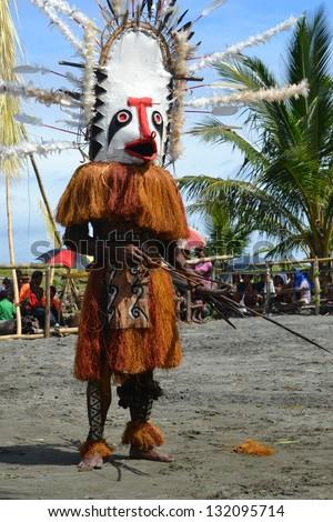Traditional dance mask festival