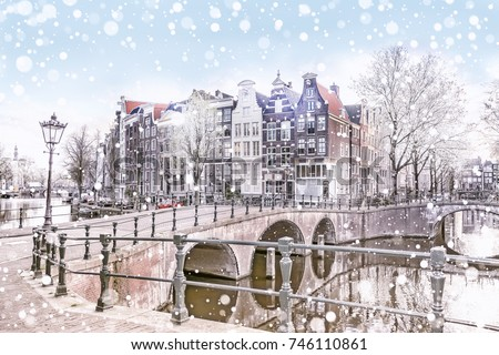 traditional dutch old houses...