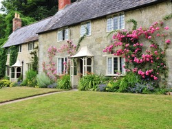 Traditional English Cottage and Garden