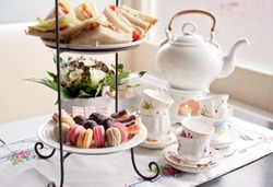 traditional English tea, high tea
