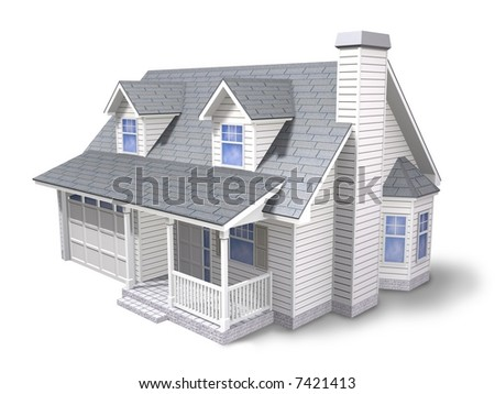 Traditional family house