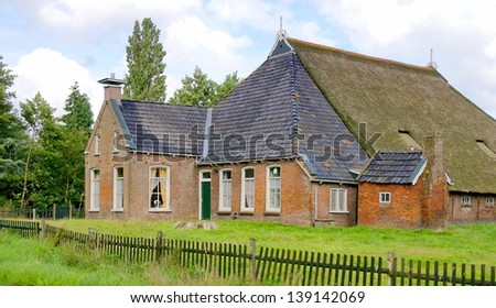 traditional farmhouse in the netherlands