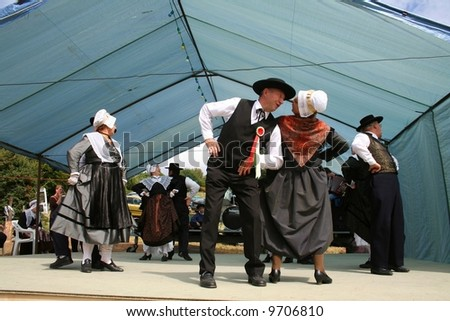 Traditional Dance Of France Information http://www.shutterstock.com/pic-9706810/stock-photo-traditional-french-folklore-dance-correze-france.html