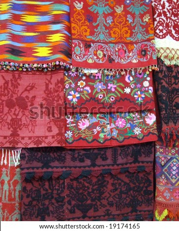 Traditional Greek bedding / blankets