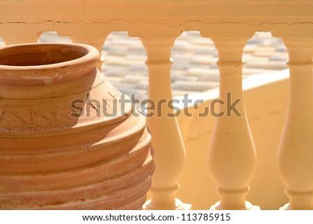 Traditional Greek vase