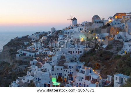 Traditional greek village, Oia, Santorini