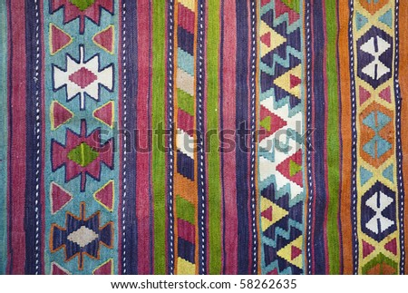 Traditional Handmade Turkish Carpet / Kilim