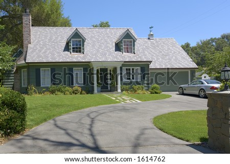 Traditional Home With two Dormers