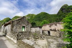 Traditional house at Sabtang island, Batanes, Philppines