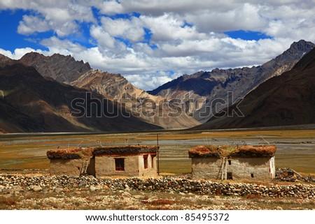 Traditional Houses, Zanskar, India