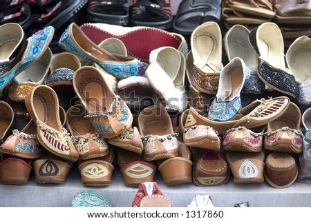 Traditional Indian footwear