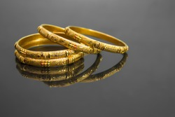 traditional indian gold bangles, also known as