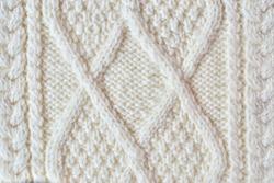 Traditional Irish knitting