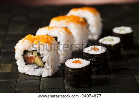 Traditional japanese food, Sushi