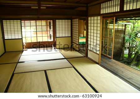 Traditional japanese interior (Kyoto)