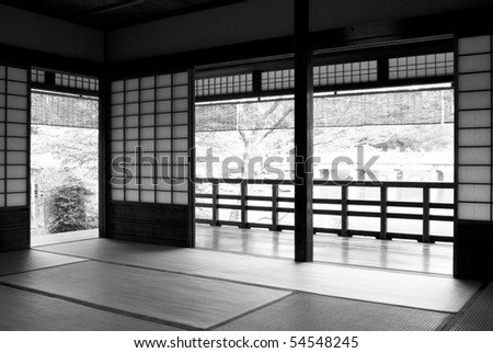 Traditional Japanese Tea Room/House