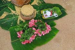 Traditional Kerala Marriage Ritual Nirapara