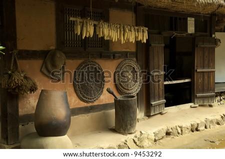 Traditional Korean home, South Korea