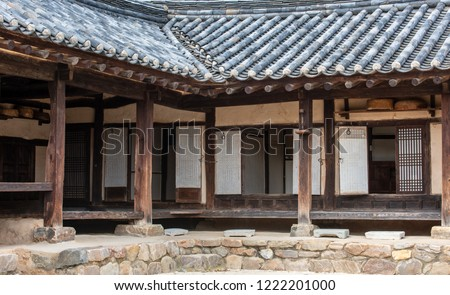 Traditional Korean Houses and Living Tools #1222201000