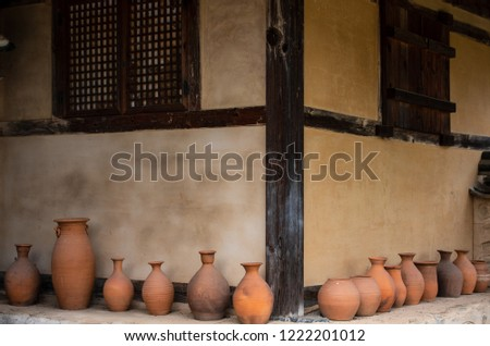 Traditional Korean Houses and Living Tools #1222201012