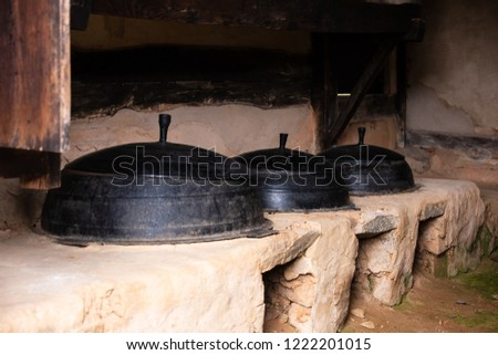 Traditional Korean Houses and Living Tools #1222201015