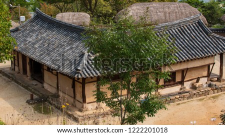 Traditional Korean Houses and Living Tools #1222201018