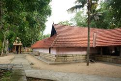 Traditional lord siva temple on kerala....