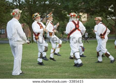traditional morris dancing