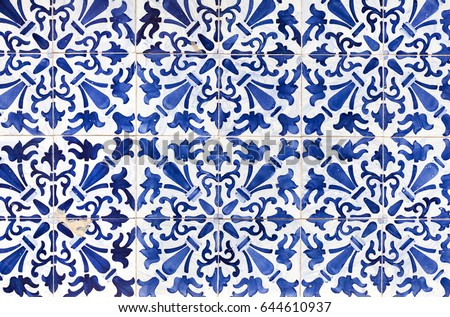 traditional ornate portuguese...