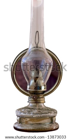 Traditional retro alike safety oil lamp