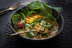 Traditional rice porridge