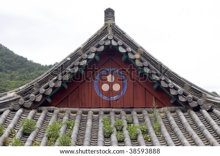 Traditional Roof, South Korea