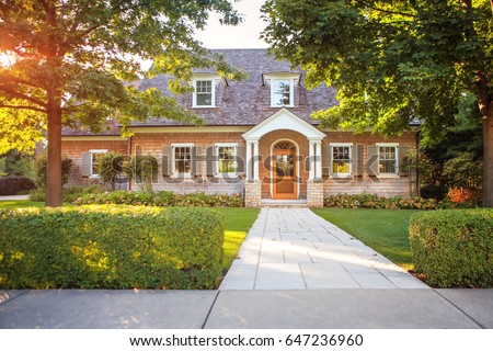 Shutterstock Traditional style  home