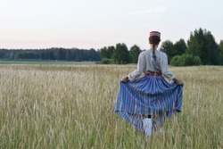 Traditional style in Latvia