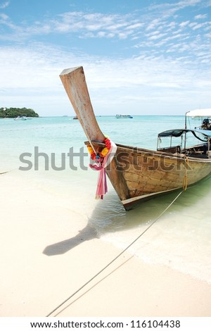 traditional Thailand boat