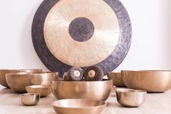 Traditional Tibetan meditation singing bowl for personal ritual