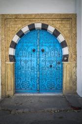 Traditional tunisian door