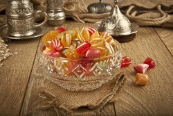 Traditional Turkish Ramadan Sweet Sugar Candy - Akide Sekeri