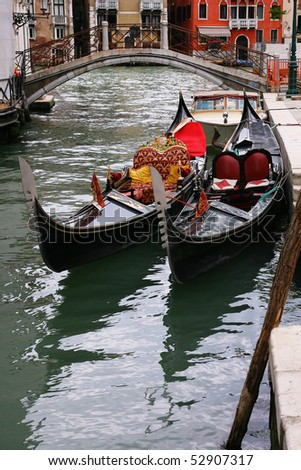 Traditional Venice gondola 2