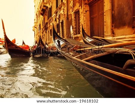 Traditional Venice gondola ride