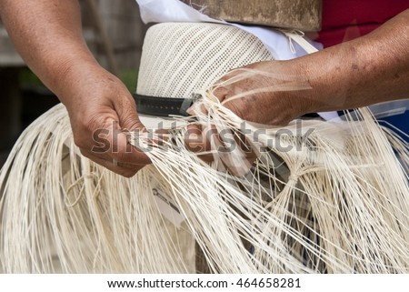 Shutterstock Traditional Weaving Of Ecuadorian Toquilla Straw Hats - UNESCO Intangible Cultural Heritage of Humanity