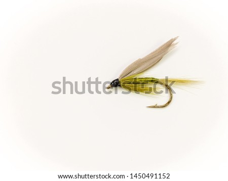 Traditional Wet Fly fishing fly for trout, Medium Olive #1450491152