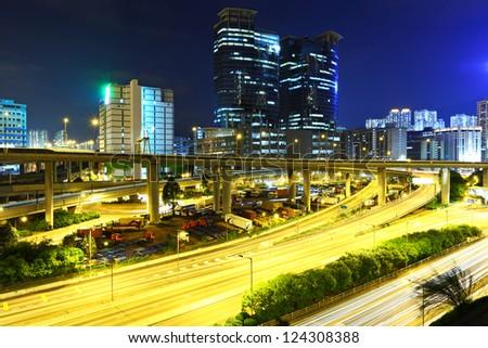 traffic city night