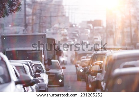 traffic congestion asia