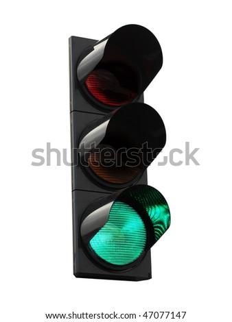 traffic lights - green