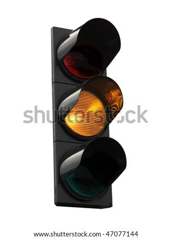 traffic lights - yellow