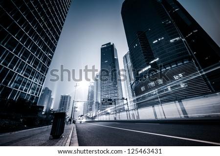 Traffic of city