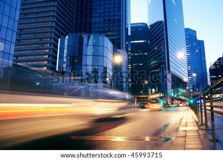 traffic road by night-4
