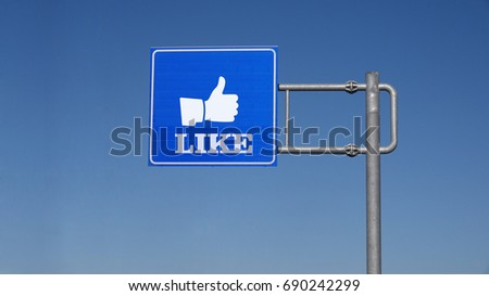 Traffic Sign and Like Sign #690242299