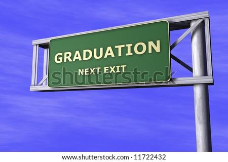 Traffic Sign - Graduation